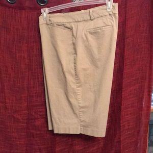 Khaki dress shorts size 16